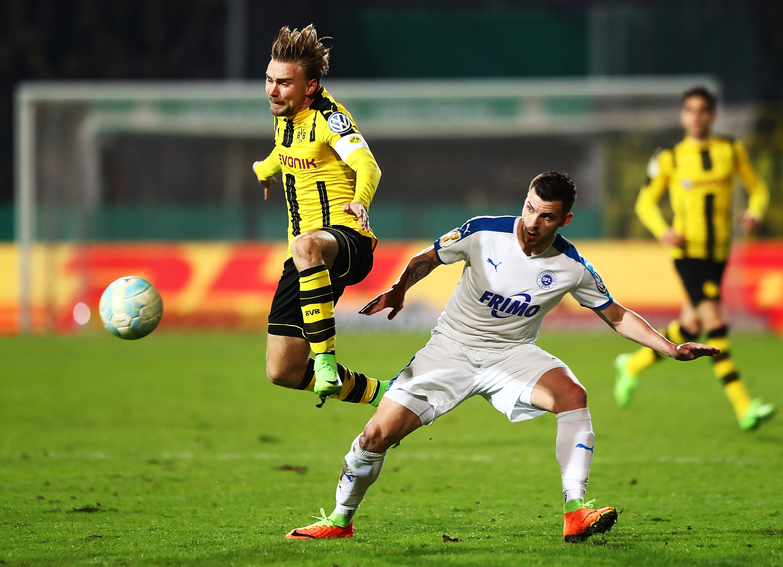 Fußball   Drittligist Lotte hofft gegen BVB auf weiteren Pokalcoup