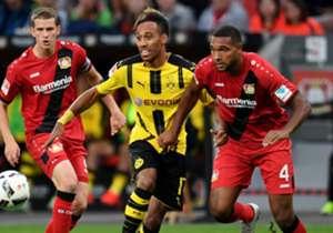 Für Aubameyang und Co. gab's gegen Bayer kein Durchkommen. In München zeigte sich Kimmich als Kopfballungeheuer und in Berlin wurde eine Geburt gefeiert. Die Bilder zum Spieltag.