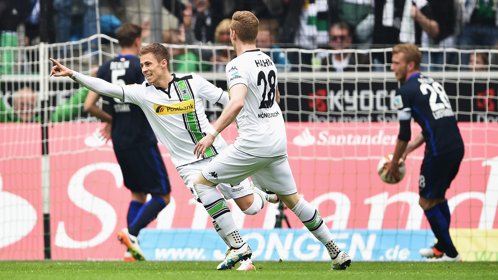 Video: Borussia M gladbach vs Hertha BSC