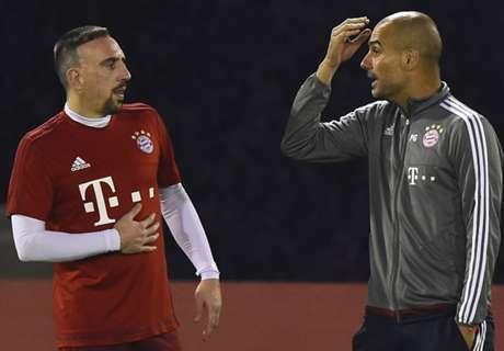Ribéry heeft weer kritiek op Guardiola
