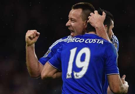 Chelsea mitten im Meisterschaftsrennen