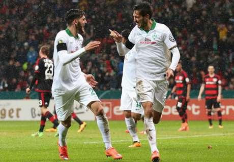 Leverkusen-Werder 1-3, résumé du match