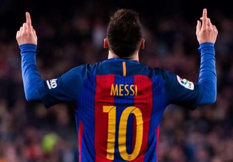 Messi knackt erneut 40-Tore-Marke