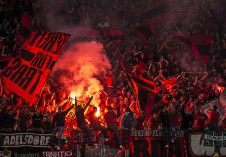 Schlägerei vor Hertha - Frankfurt