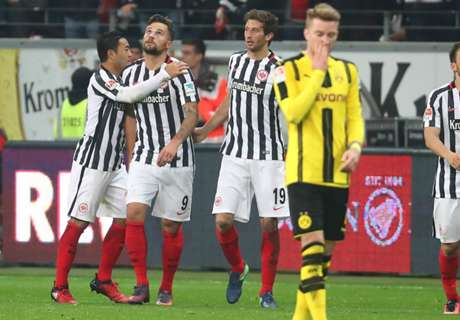 Francfort-Dortmund 2-1, résumé de match
