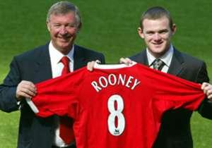 WAYNE ROONEY | 2004 | Vom FC Everton zu Manchester United | Ablöse: 37 Millionen Euro
