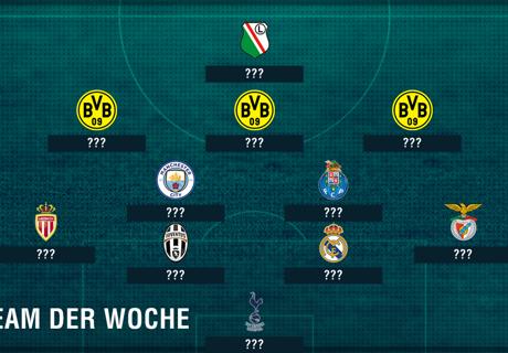 BVB-Offensive im CL-Team der Woche