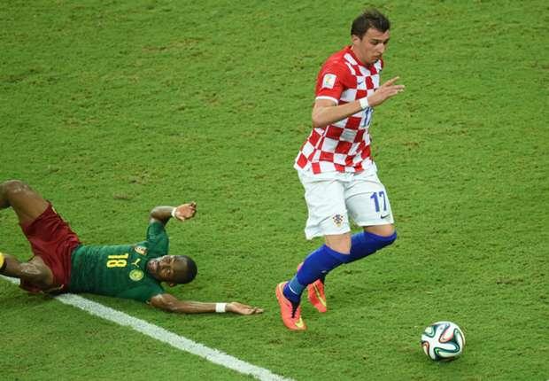 Traumhaftes WM-Debüt: Kroatiens Mario Mandzukic