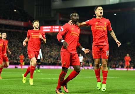 Inglês: Liverpool 2 x 0 Tottenham