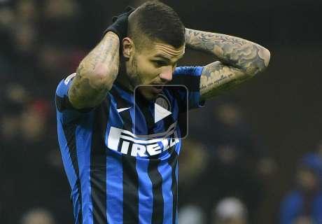 Inter Milan, Icardi n'entend pas les sifflets