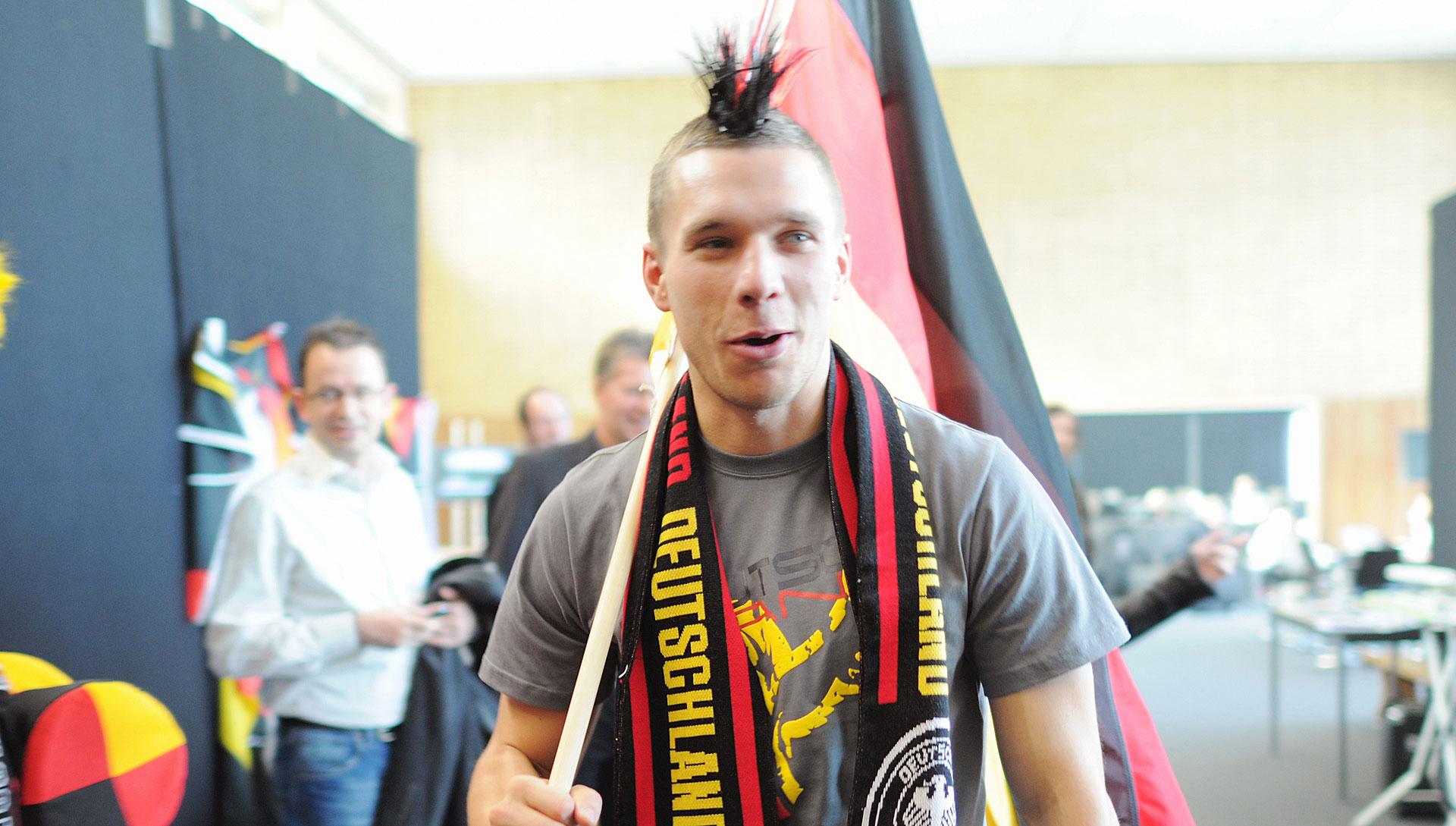 Hollywood-Abschied für Lukas Podolski