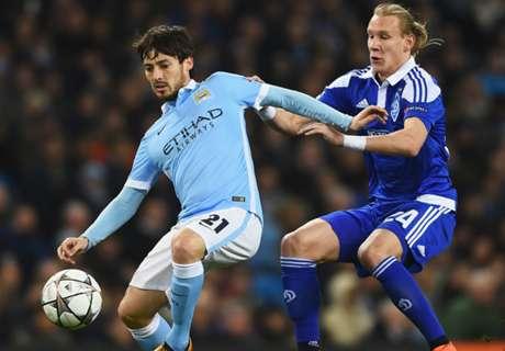 UCL: Manchester City 0-0 Dinamo Kiev