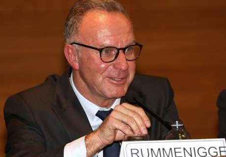 Rummenigge stärkt die UEFA