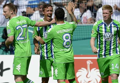 REVIEW DFB-Pokal: Wolfsburg & Schalke Pesta Gol