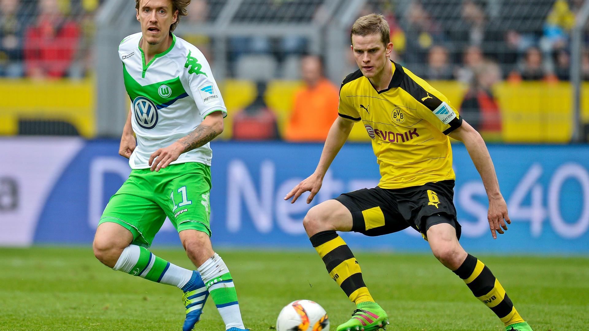 Sven Bender Borussia Dortmund Vfl Wolfsburg Max Kruse Bundesliga