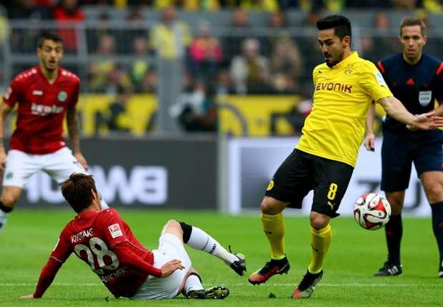 Borussia Dortmund 0-1 Hannover: Kiyotake stunner piles more pressure on Klopp