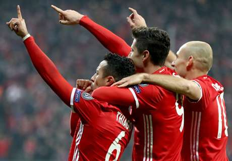 Thiago shines as Bayern maul Arsenal