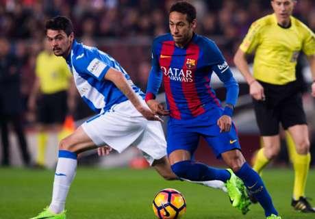 Barcelona stelt teleur tegen Leganés