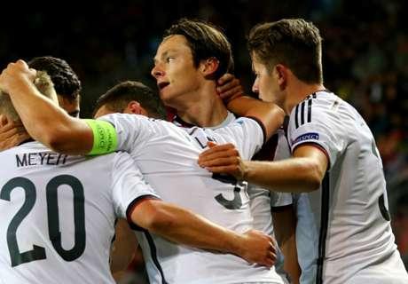 DFB-Junioren stolpern ins Halbfinale