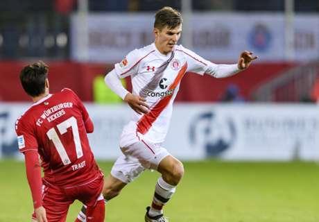 2. Liga: Pauli schenkt Würzburg Sieg