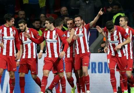 Atlético maakt indruk tegen Leverkusen