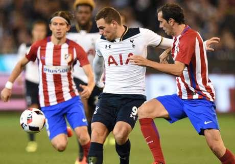 ICC 2016: Tottenham 0-1 Atlético