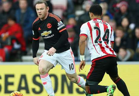 LIVE: Sunderland 2-1 Man Utd