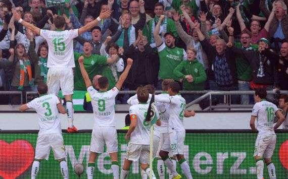 Werder Bremen jubelt - ab dem Sommer ohne Mielitz