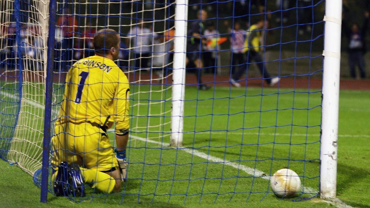 Paul Robinson England Kroatien 11102006