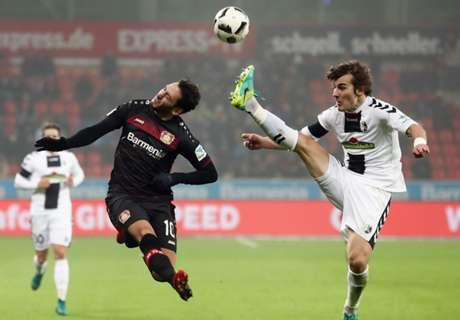 Freiburg erkämpft Punkt in Leverkusen
