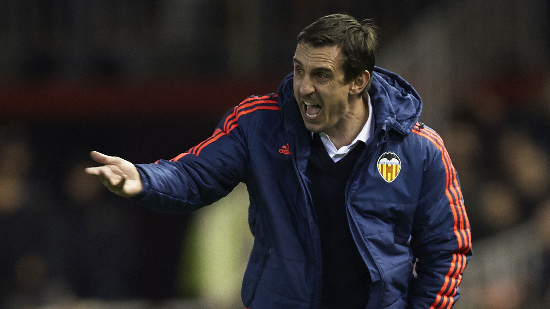 Gary Neville FC Valencia 18022016
