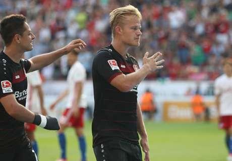 Leverkusen remonta y vence al Hamburgo