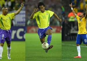 Keine andere Nation hat so viele großartige Individualkünstler, geniale Fußballer und erfolgreiche Torjäger hervorgebracht wie Brasilien. Von Friedenreich, Pele über Ronaldo bis zu Neymar: Das sind die größten Ballzauberer der Selecao geordnet nach ihr...