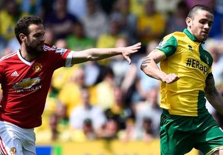 Inglês: Norwich 0x1 Man.Utd
