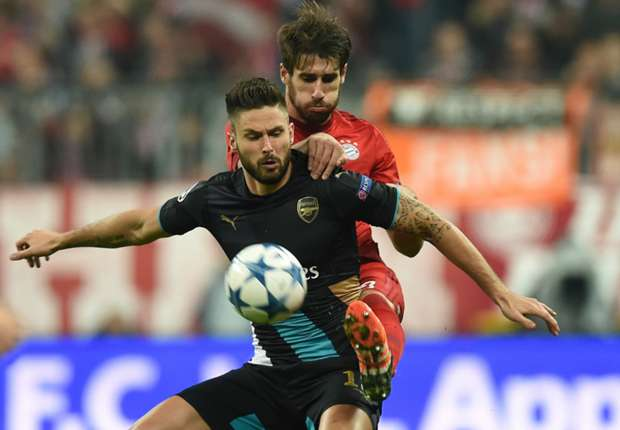 Bayern Munich v Arsenal Betting Special: Lewandowski leads the way but Giroud is the value play