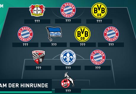 Le XI de Bundesliga à la mi-saison
