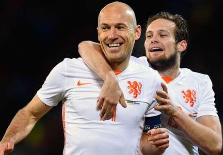 Robben Pantang Mundur Bela Belanda