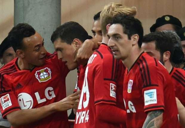 Mit den eingewechselten Spielern kam bei Leverkusen die Wende