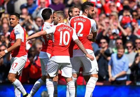 Arsenal terminó como subcampeón