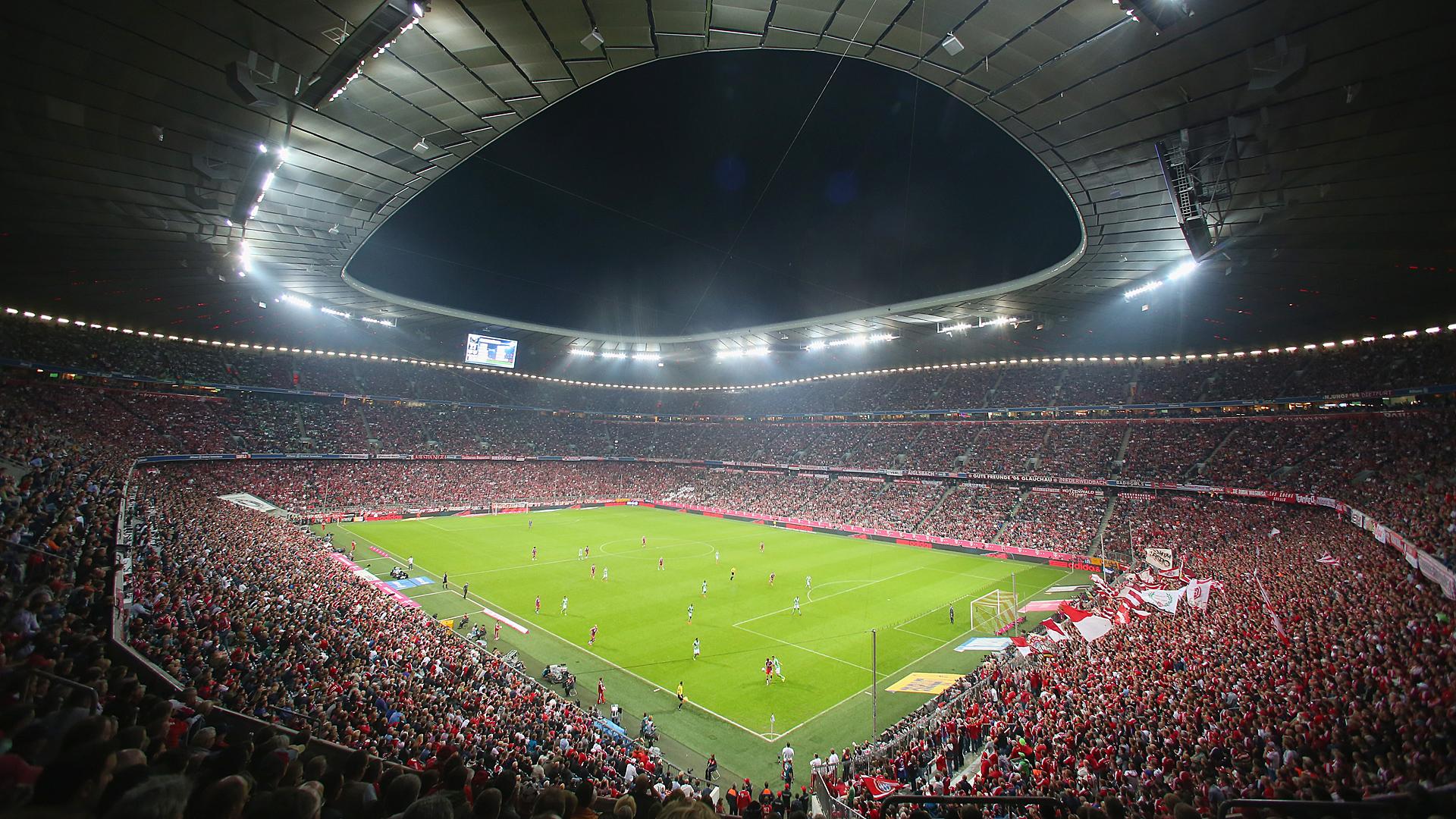 Allianz arena bayern m nchen vfl wolfsburg 08232014 - El tiempo en wolfsburg ...