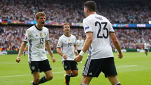 Thomas Muller Mario Gomez Germany Northern Ireland European Championship 21062016
