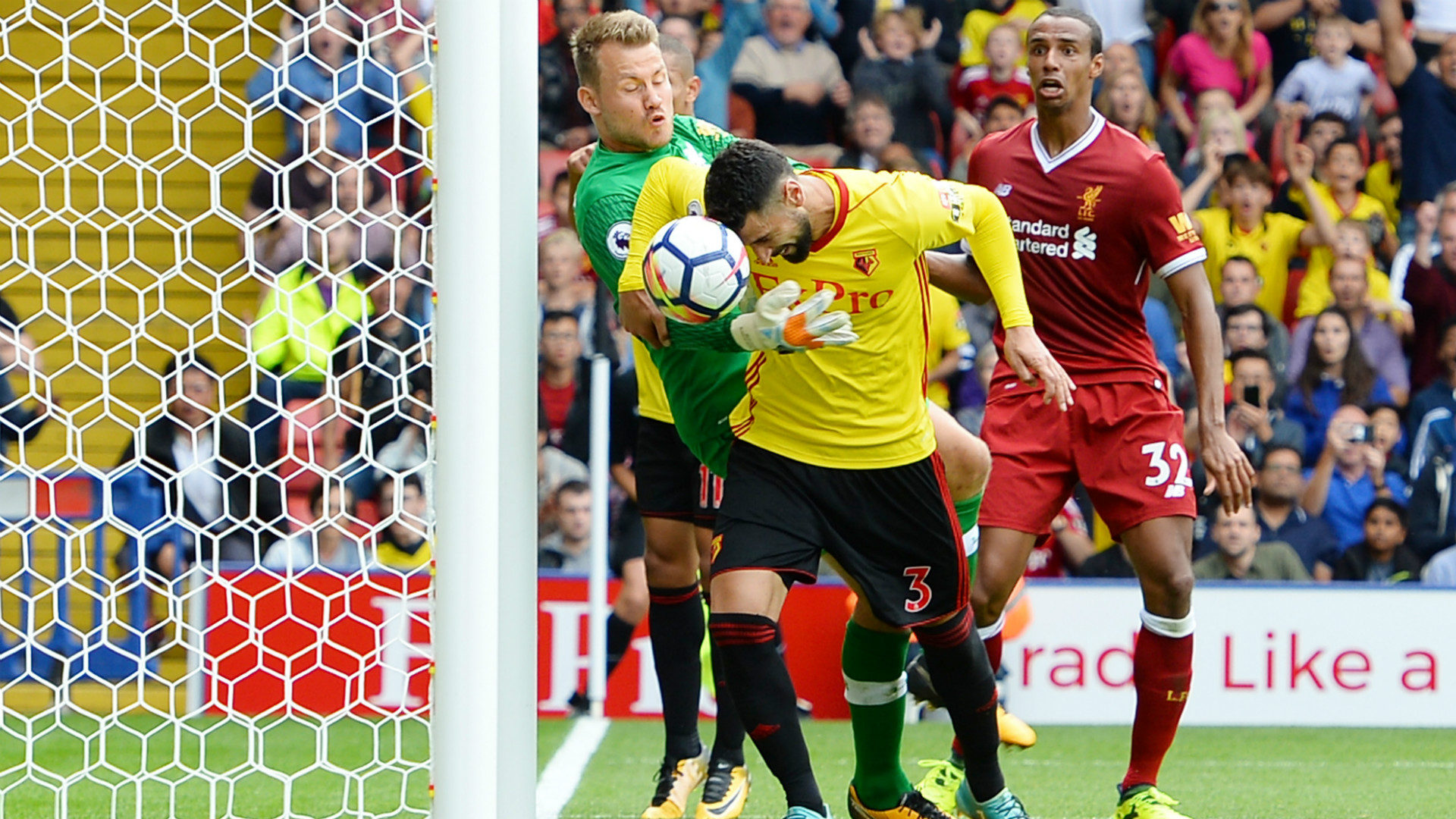 Watford Liverpool Premier League 12082017