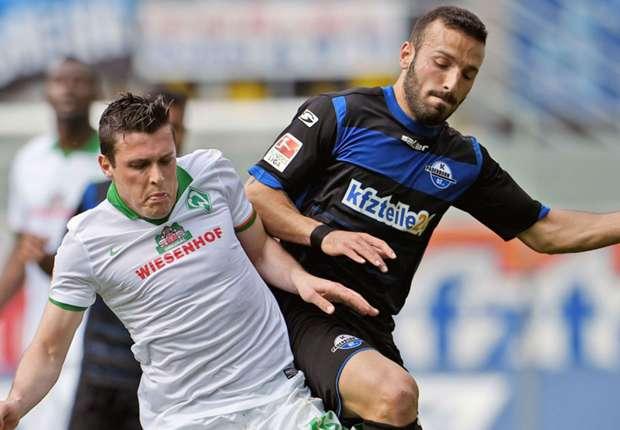 Zlatko Junuzovic (l.) und Werder dürfen weiter von Europa träumen