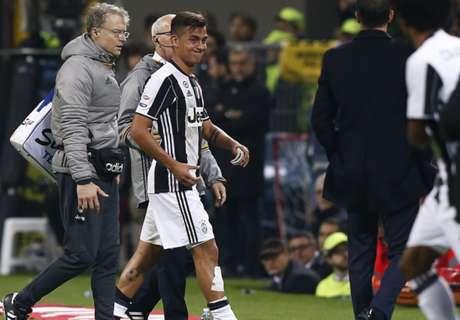 Juve: Dybala tem lesão confirmada