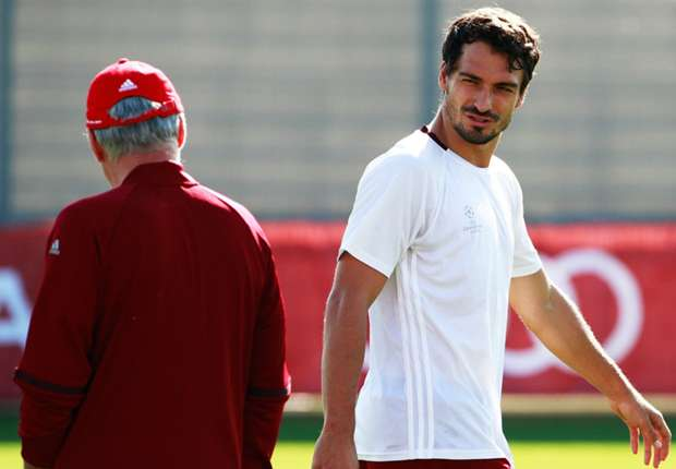 Image result for Hummels Ancelotti