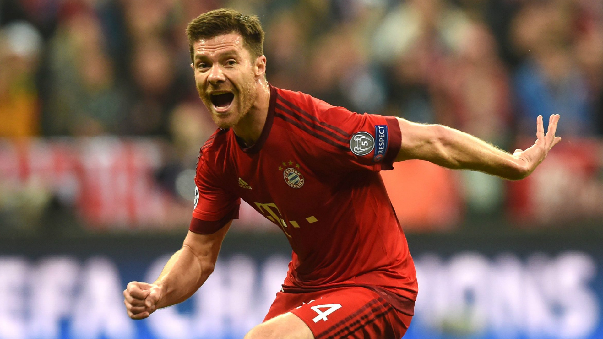 XABI ALONSO BAYERN MUNICH CHAMPIONS LEAGUE 03052016