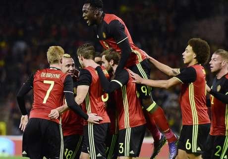 Tests: Belgien und Spanien stark