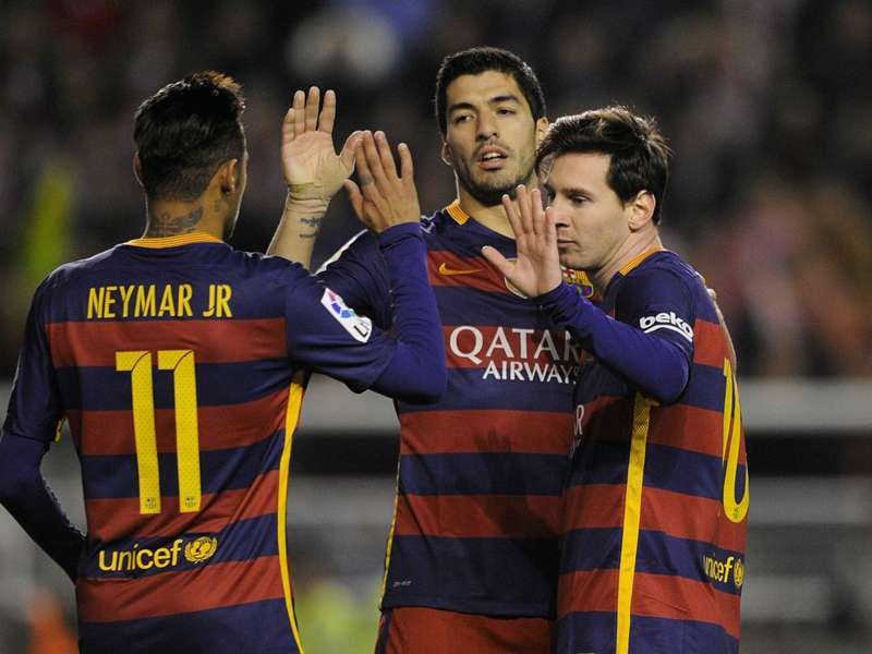 La Liga: a partida do trio MSN em 'El Clásico'