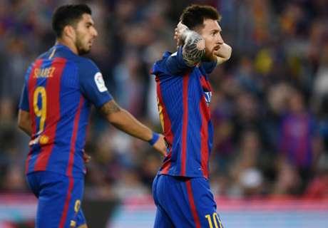 FT: Barcelona 4-2 Eibar