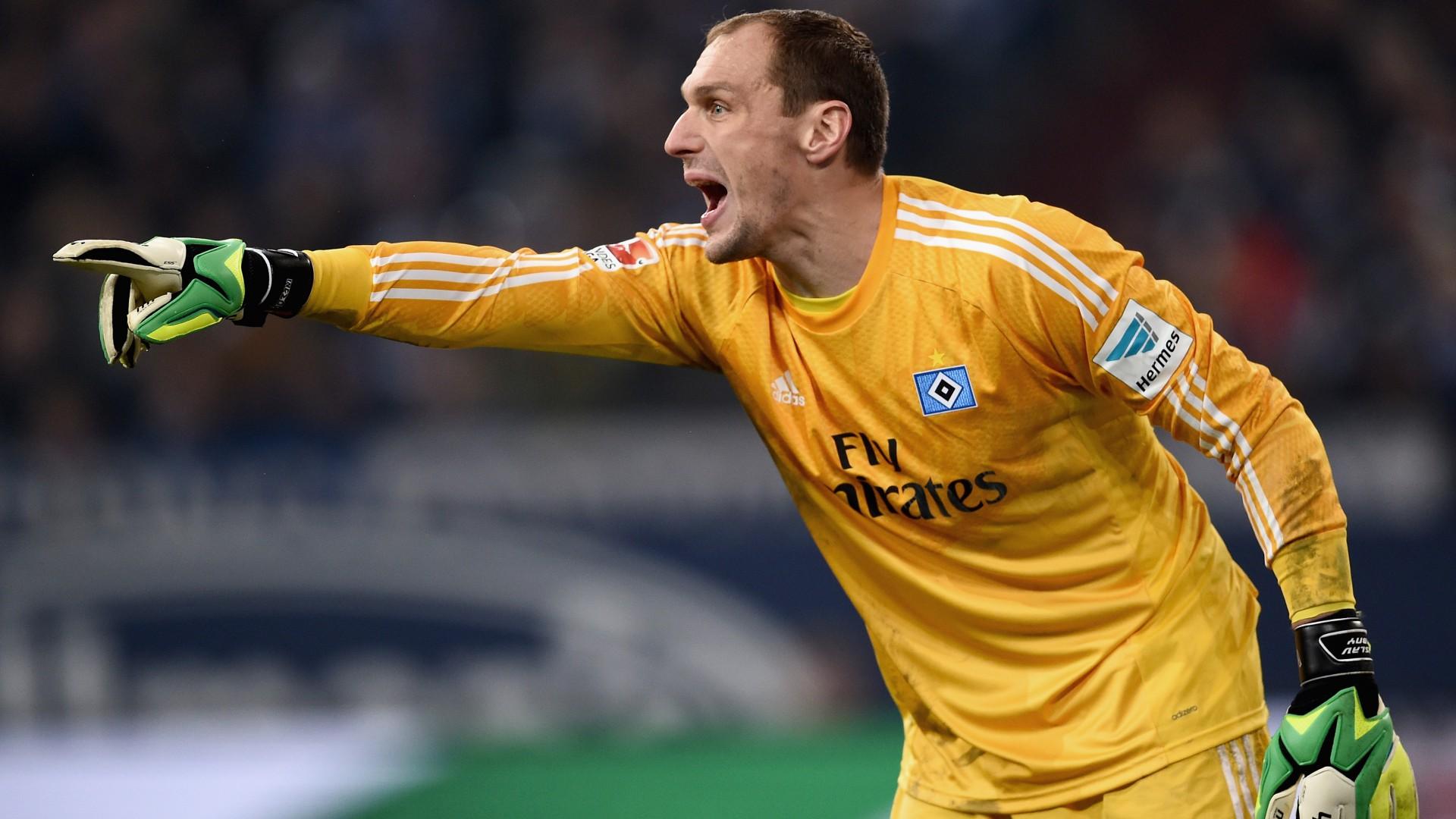 Schalke Hamburg Jaroslav Drobny Bundesliga Goal